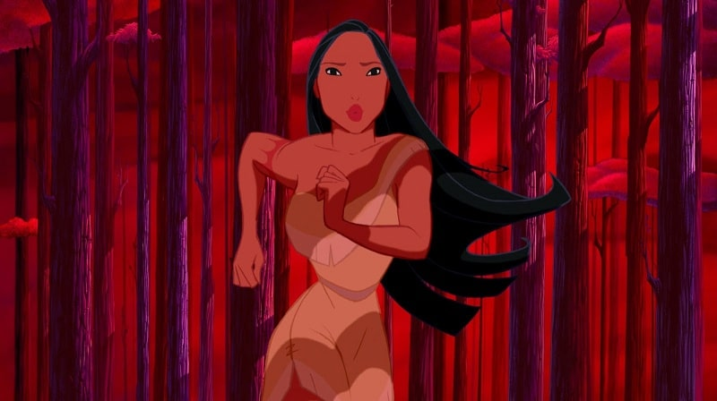 fairytrail female character pocahontas