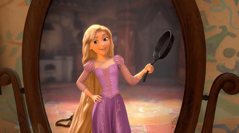 fairytrail female character rapunzel