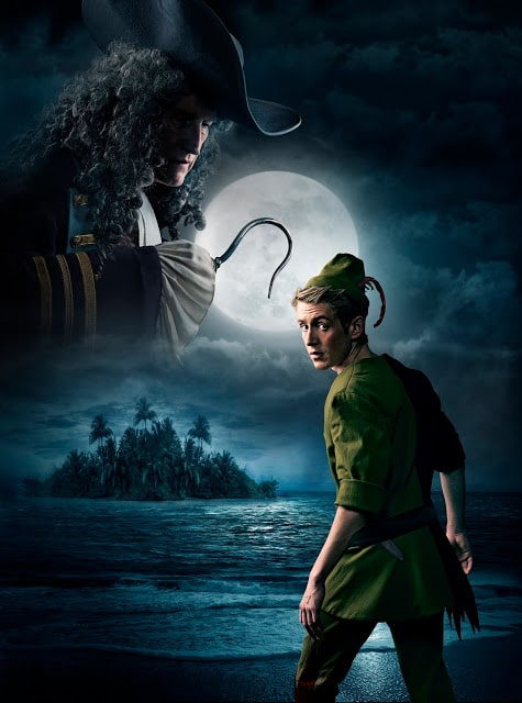 male fairytrail character - peter pan